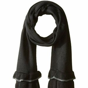 Collection XIIX Knitted Ruffle Scarf